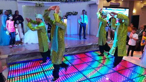 Indian Mahraj King Wedding Dance In Egypt Record