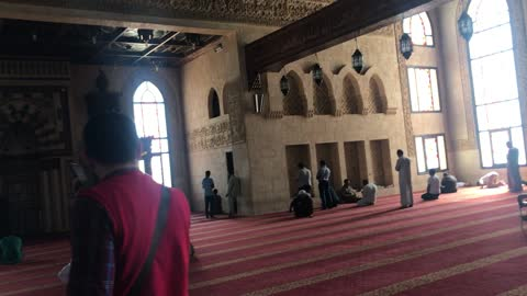 Tourist records His Visit To Old Mosque In Sharm El Sheikh