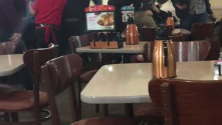 IHOP Restaurant Brawl - Video