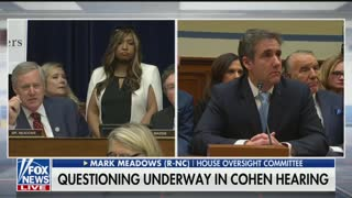 Meadows questions Cohen in Senate hearing