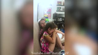 Little Girl Cries Over Losing at Fortnite