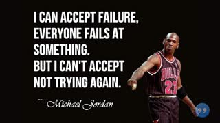 MICHAEL JORDAN FAMOUS QUOTES - Video
