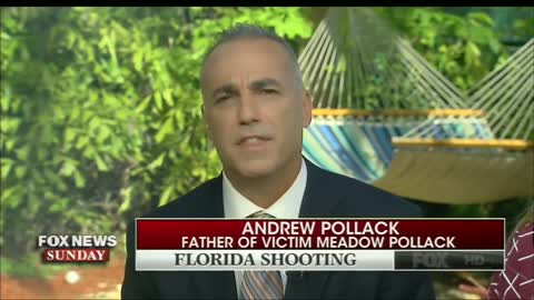 Parkland Dad Confronts TV Anchor, Media for Gun Control Obsession: 'My Daughter's Dead'