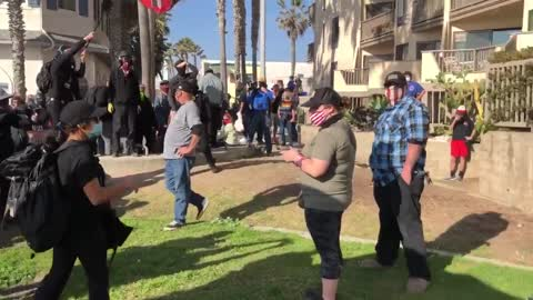 San Diego Antifa starting with operation Patriot Cleansing