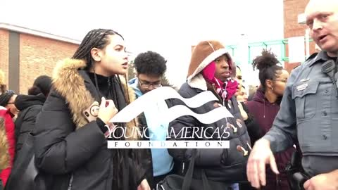 Conservative Students Harassed By Leftist Student Mob