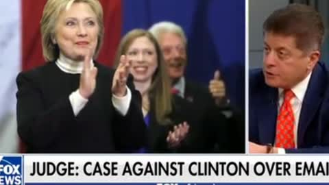 Judge Napolitano Wants Hillary Clinton Prosecuted