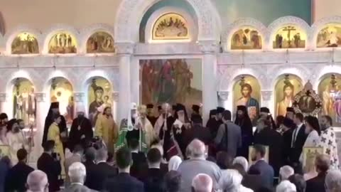 Russian Patriarch Kirill Welcomed By Albanian Orthodox Church