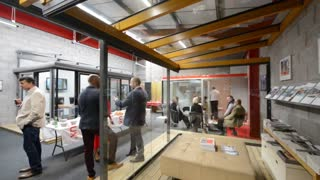 Saira Khan opens new showroom - Video