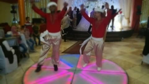 Four Special Sailors Performers In Egyptian Wedding