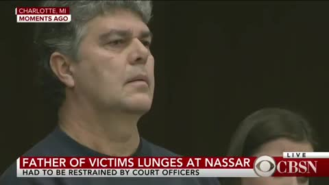 Father of Nassar Victims Tries to Tackle Disgraced Doctor in Courtroom