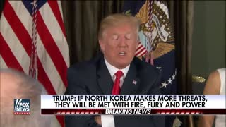 Donald Trump Threatens North Korea - Video