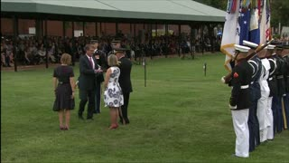 Retirement ceremony for U.S. General Martin Dempsey - Video