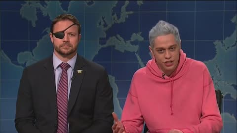 Dan Crenshaw Makes Surprise SNL Appearance to Even Score with Pete Davidson