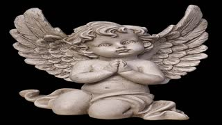 Video of statues of angels