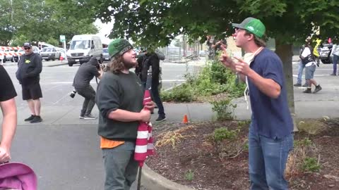 The Whole TRUE Story Of When Sacha Cohen Trolled The Freedom Rally In Washington State