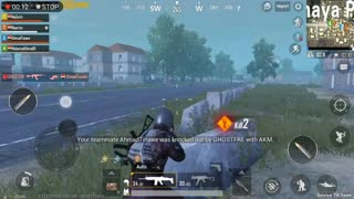 Fighting Against Full Squad In Zombie Mode Pubg Mobile