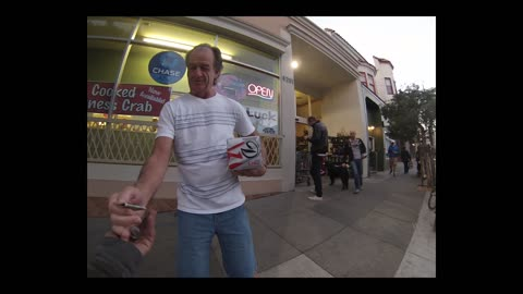 Homeless GoPro - conversation