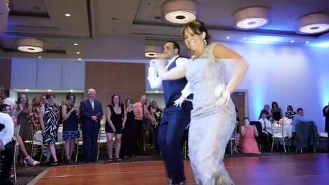 Mother-Son Dance Wows Guests