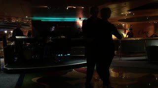 Dancing on a cruise ship  - Video
