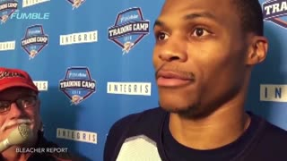 "Russell Westbrook Calls Kevin Durant's Insults ""Cute"" - Video"
