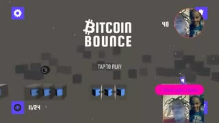 BitCoin Bounce Mobile Game