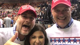 Trump Tennessee Rally Interview - MAGA Twins - Video