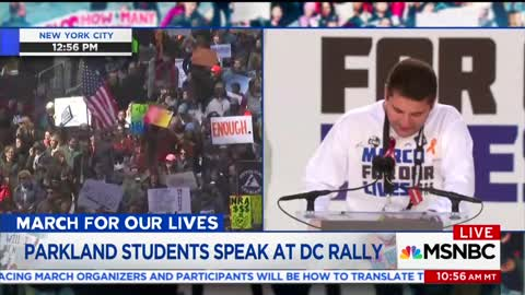 Parkland Survivor Goes Off: 'If You Take Money From the NRA, You Have Chosen Death'
