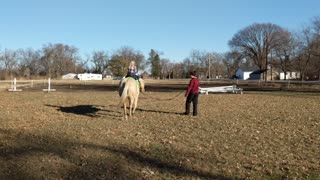 Last Ridding Lesson before Winter