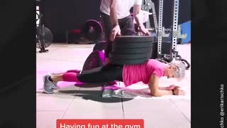 81 Year Old's Fitness Video goes Viral on TikTok