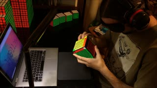 9x9x9 Rubik's Cube Solved BLINDFOLDED (WORLD RECORD)  - Video