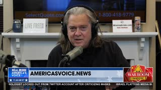 Bannon Rants Against Stolen Election: 250,000 Illegitimate Votes in Arizona