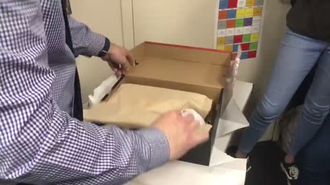 Students Surprises Teacher
