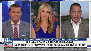 Jose Aristimuno on report of military outing immigrants, blasts Trump - Video