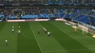 VIDEO: Sandro scored a Beautiful Freekick. - Video