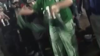 Horsing Around After a Super Bowl Victory - Video