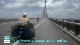 Can Tho Bridge - South Vietnam  - Video