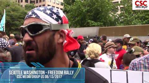 Anti Freedom Protesters In Seattle Cant Answer Simple Yes Or No Questions About Freedom