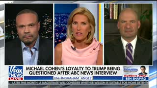 Dan Bongino clashes with Dem pundit over Michael Cohen flipping on Trump