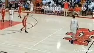 Epic AnkleBreaker in Championship Basketball Game