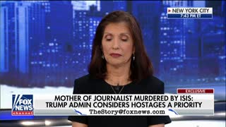 James Foley's mother on getting government help for hostages under Obama vs. Trump - Video