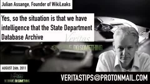 Audio: Assange tried to warn State Dept of leaked emails