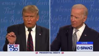 Trump Vs Biden Debate 2020 Part 3