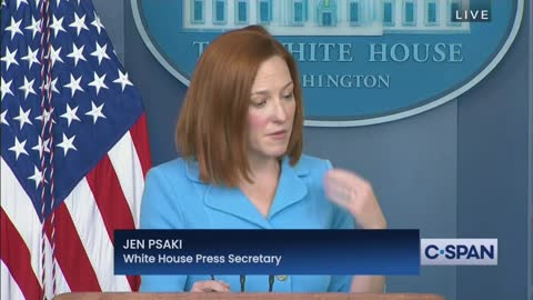 Psaki Dodges Question On Background Check Legislation