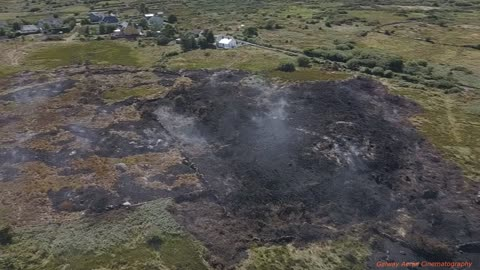 Simmering Gorse Fire