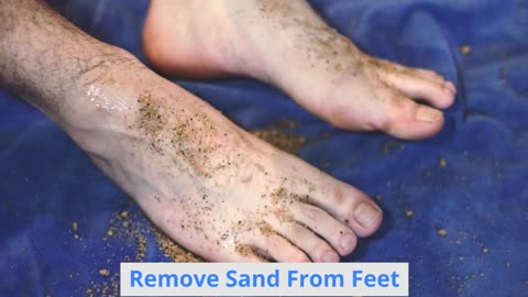 Baby Powder To Remove Sand