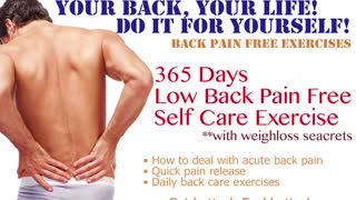 How to Sleep with Low Back Pain by AyaCise No.2  - Video