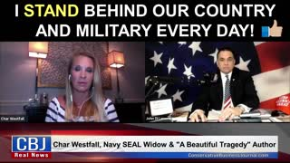 Navy SEAL Widow Char Westfall Shares how She Stands Behind Our Country and Military Every Day!