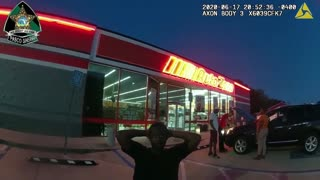 (BodyCam) Officer Attacked Outside AutoZone In Pasco County Florida (Tazer)