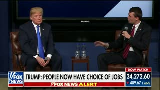 Trump Says Conservative Speech Narrative Overblown; Moderator Agrees After Saying It Was A Problem