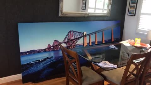 Guy Purchases Massive Picture Of View He Already Has From His Window